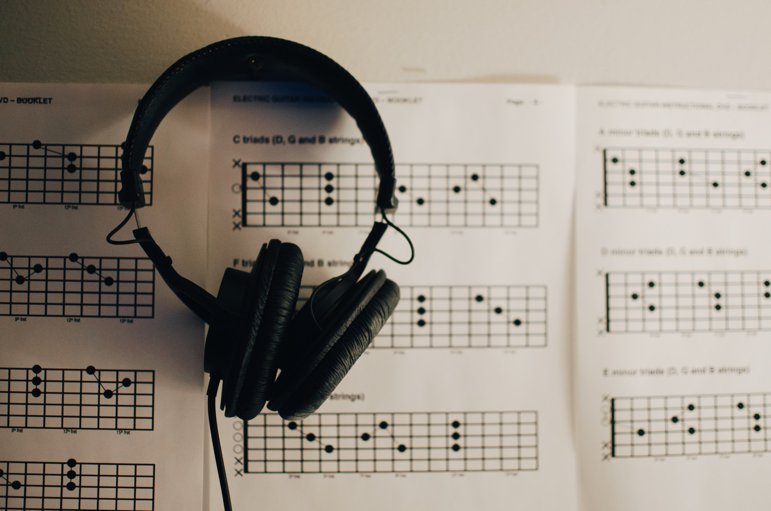 guitar tab chord charts